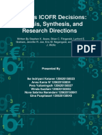 Audit' ICoFR Analysis & Synthesis
