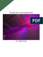 Tutorial Lichttechnik