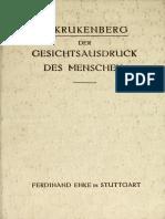 Krukenberg, Hermann - Der Gesichtsausdruck Des Menschen (1913).pdf