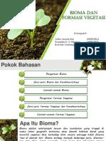 Bioma Dan Formasi Vegetasi