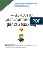 → Segredos Do Martingale Livro PDF? [SAIBA A VERDADE AGORA!] ?