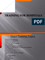 Training of Hospital