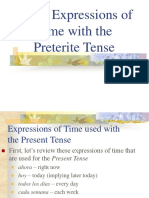 expressions of time
