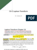 CA2 Laplace Tranform