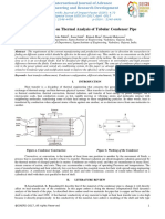 ME-010-A Review Paper on Thermal Analysis of Tubular Condenser Pipe