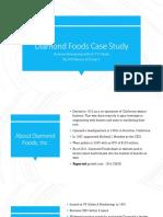 Diamond Case Study Analysis
