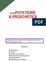Amputation and Prosthetics