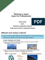 Japan - Career & Life in Japan - METI