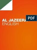 Al Jazeera English Brochure