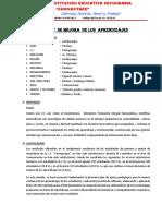 PLAN  DE MEJORA   DE LOS  APRENDIZAJES- COMUNICACIÓN.docx