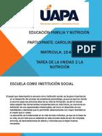 Tarea 2 Educación Familia y Nutrición CARO