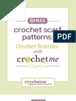 8 Crochet Scarves Freemium