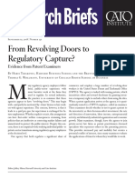 From Revolving Doors to Regulatory Capture? Evidence from Patent Examiners