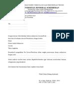 Surat izin pra survey