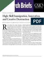 High-Skill Immigration, Innovation, and Creative Destruction