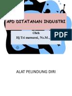 Apd Ditatanan Industri 4