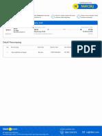 Tiket Order #101330047 Flight