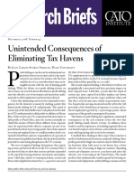 Unintended Consequences of Eliminating Tax Havens