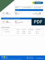 Tiket Order #96415617 Flight