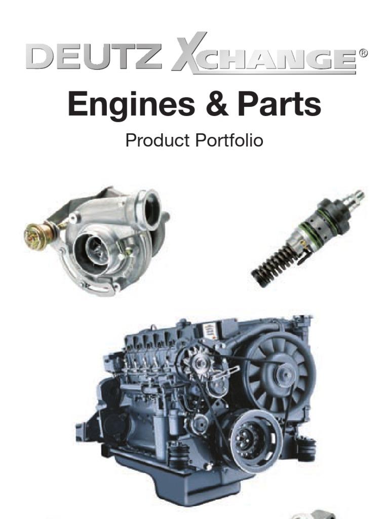 flyer xchange 16s e 100412 3 engines machines rh scribd com Deutz Diesel Engines Deutz Engines Bf 4M 2012