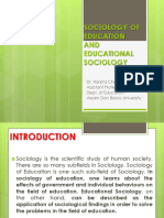 1549880857sociology of Education and Educational Sociology