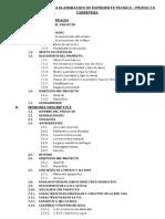 Requisitos Para La Eleboracion de Expediente Tecnico - Proyecto Carretera