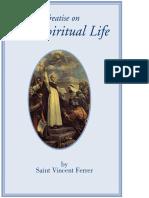 Treatise on the Spiritual Life - Saint Vincent Ferrer