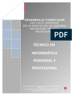 Técnico en Informátca Personal y Profesional