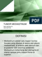 PPT Tumor Mediastinum Bima.ppt