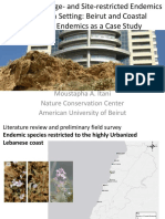 Conserving Range- and Site-restricted Endemics in an Urban Setting