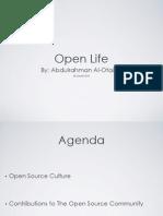 Abdulrahman Al Otaiba  - Open Life