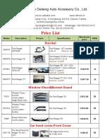 11-19 Ranger Accessory Price List-dl4wd