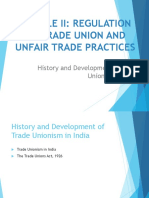MODULE II History and Development of Trade Unionism in India.pptx