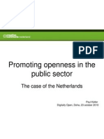 Paul Keller - Promoting Openness is the Public Sector