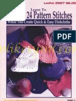 LA-24 Stitches Dishclothes