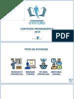 Conteúdo Programático_Construindo o Futuro_2019