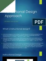 Instructional Design Approach