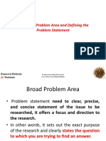 The Broad Problem 3