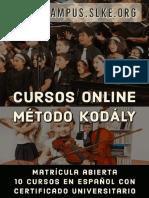 Certificado Universitario de Especialista en el Método Kodály