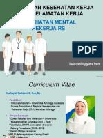 Pelayanan Kesehatan Kerja & Kesehatan Mental