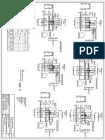 Structura_plan acoperis + axele elementelor si sectiune