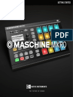 MASCHINE MIKRO MK2 Getting Started English 2-7-10