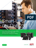 Smart-UPS on-Line SRT 2.2kVA - 10kVA Brochure 230V Models (1)