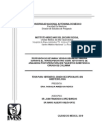 Tesis Anestesiología ARR