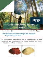 Constituição Mundo Material