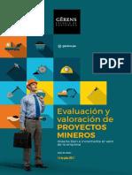Folleto Evaluacion y Valoracion de Proyectos Mineros 2017