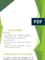 alcaloides derivados