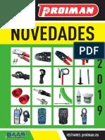 201904 Proiman Catalogo Novedades 2019