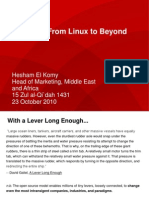 Hesham Al Komy - From Linux Beyond