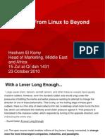 Hesham Al Komy - From Linux Beyond